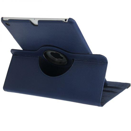 Mobigear 360 Rotating Bookcase voor de iPad 6 (2018) / iPad 5 (2017) / iPad Air 1 (2013) - Donkerblauw