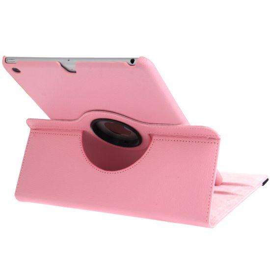 Mobigear 360 Rotating Bookcase voor de iPad 6 (2018) / iPad 5 (2017) / iPad Air 1 (2013) - Roze