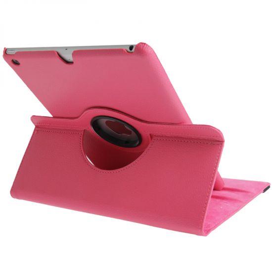 Mobigear 360 Rotating Bookcase voor de iPad 6 (2018) / iPad 5 (2017) / iPad Air 1 (2013) - Magenta