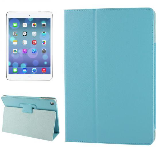 Mobigear Classic Bookcase voor de iPad 6 (2018) / iPad 5 (2017) / iPad Air 1 (2013) - Blauw