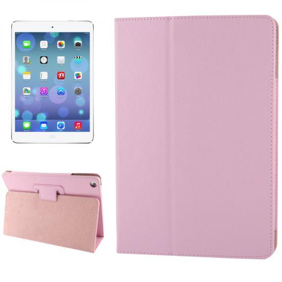 Mobigear Classic  Bookcase voor de iPad 6 (2018) / iPad 5 (2017) / iPad Air 1 (2013) - Roze