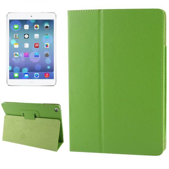 Mobigear Classic Bookcase voor de iPad 6 (2018) / iPad 5 (2017) / iPad Air 1 (2013) - Groen