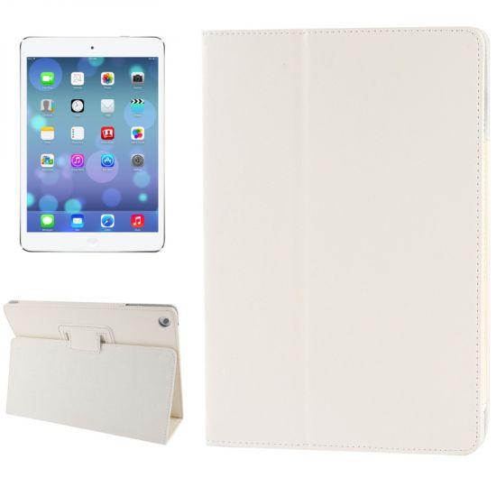 Mobigear Classic Bookcase voor de iPad 6 (2018) / iPad 5 (2017) / iPad Air 1 (2013) - Wit