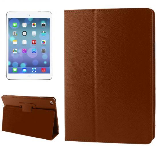 Mobigear Classic Bookcase voor de iPad 6 (2018) / iPad 5 (2017) / iPad Air 1 (2013) - Bruin