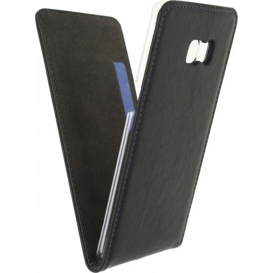 Mobilize Premium Magnet Flipcase voor de Samsung Galaxy S6 Edge Plus - Zwart