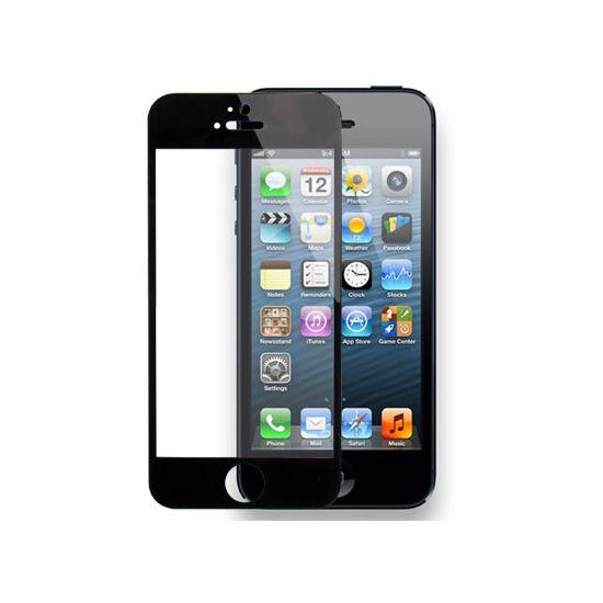 Mobigear Gehard Glas  Screenprotector voor de iPhone SE (2016) / 5S / 5C / 5 - Zwart