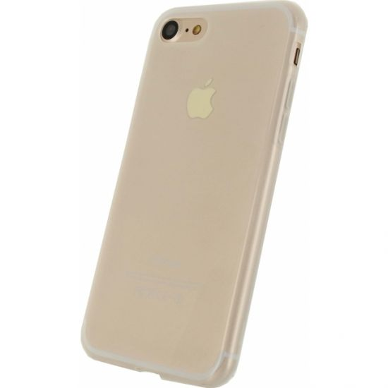 Mobilize Gelly TPU Backcover voor de iPhone SE (2020) / 8 / 7 - Milky White