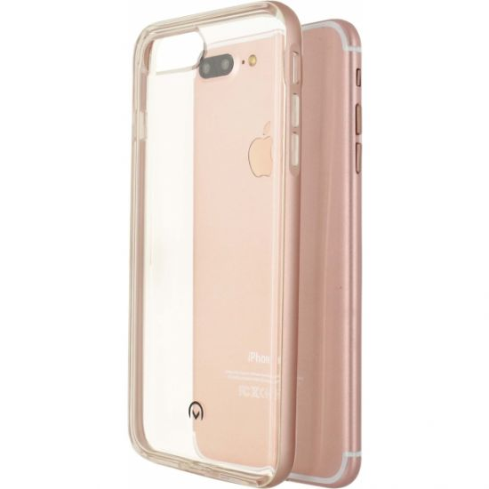 Mobilize Gelly Plus TPU Backcover voor de iPhone 8 Plus / 7 Plus - Roségoud