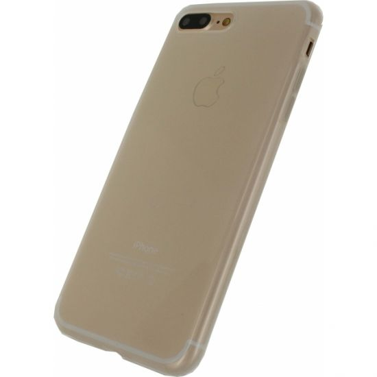 Mobilize Gelly TPU Backcover voor de iPhone 8 Plus / 7 Plus - Milky White
