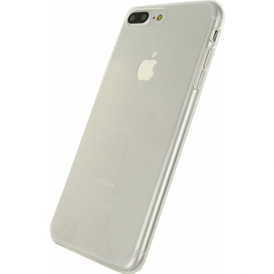 Mobilize Gelly TPU Backcover voor de iPhone 8 Plus / 7 Plus - Transparant