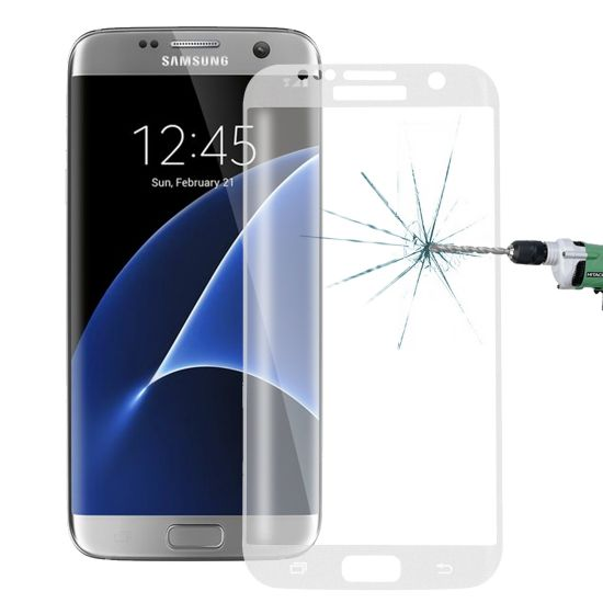 Mobigear Edge To Edge Gehard Glas Screenprotector voor de Samsung Galaxy S7 Edge