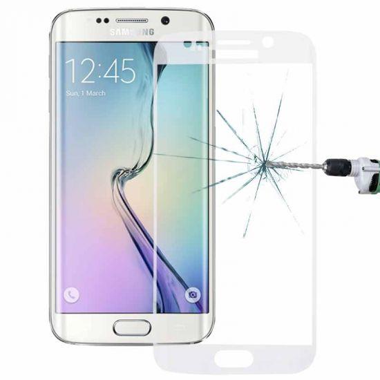 Mobigear Edge To Edge Gehard Glas Screenprotector voor de Samsung Galaxy S6 Edge