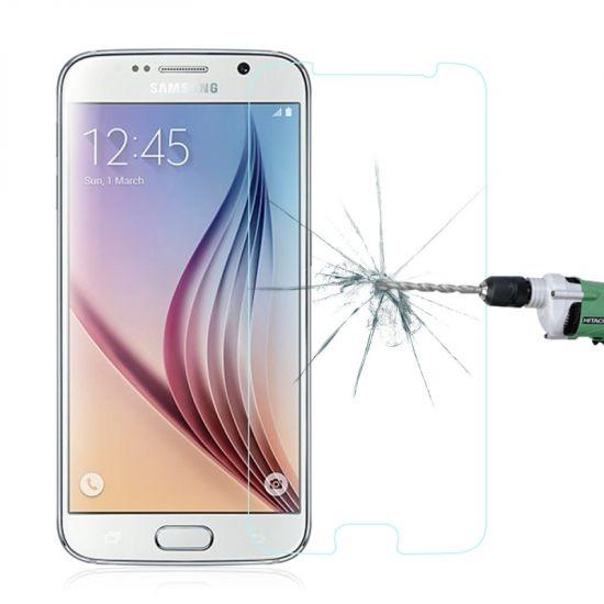 Mobigear Gehard Glas Screenprotector voor de Samsung Galaxy S6