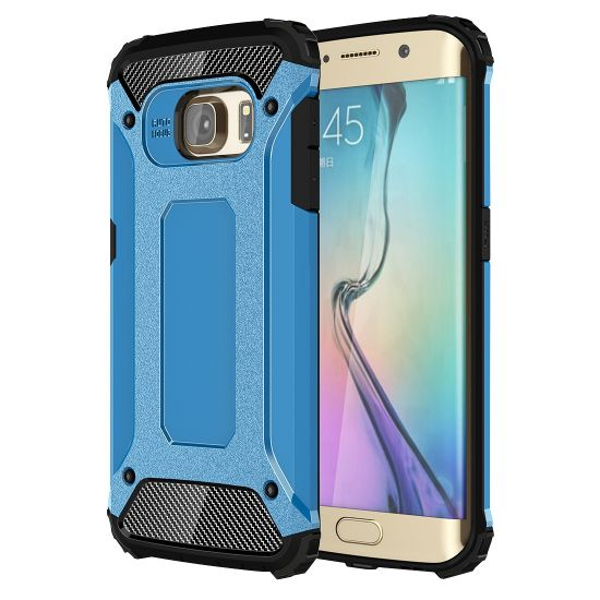 Mobigear Outdoor Hardcase voor de Samsung Galaxy S6 Edge - Blauw