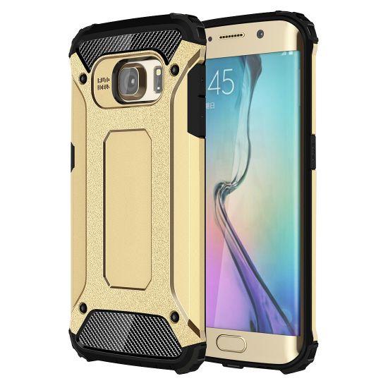 Mobigear Outdoor Hardcase voor de Samsung Galaxy S6 Edge - Goud