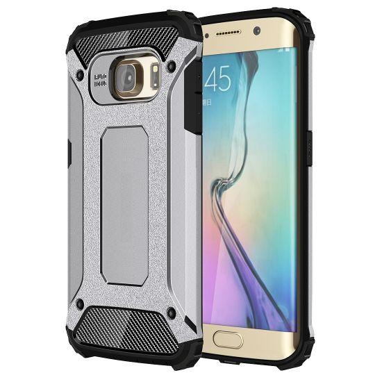 Mobigear Outdoor Hardcase voor de Samsung Galaxy S6 Edge - Grijs