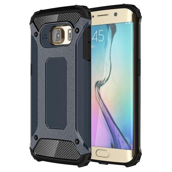 Mobigear Outdoor Hardcase voor de Samsung Galaxy S6 Edge - Donkerblauw