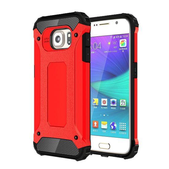 Mobigear Outdoor Hardcase voor de Samsung Galaxy S6 - Rood