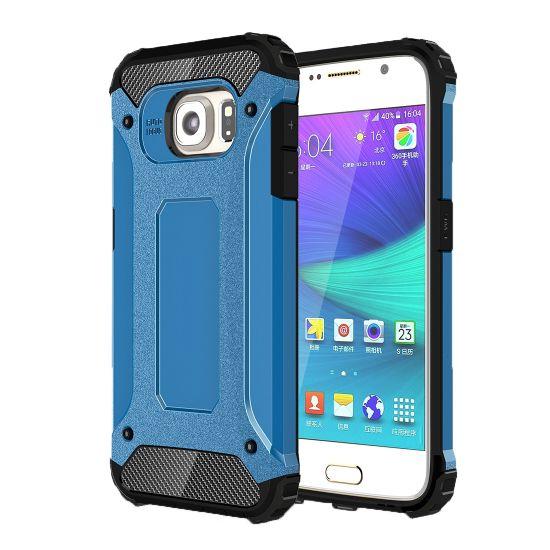 Mobigear Outdoor Hardcase voor de Samsung Galaxy S6 - Blauw