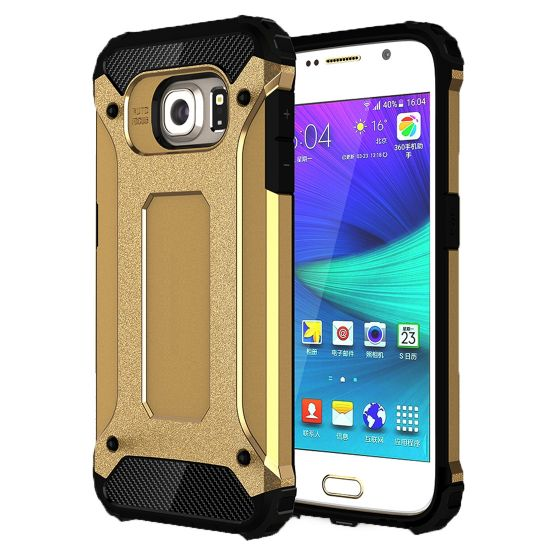 Mobigear Outdoor Hardcase voor de Samsung Galaxy S6 - Goud