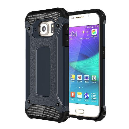 Mobigear Outdoor Hardcase voor de Samsung Galaxy S6 - Donkerblauw