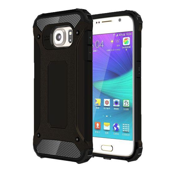 Mobigear Outdoor Hardcase voor de Samsung Galaxy S6 - Zwart