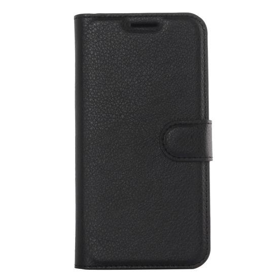 Mobigear Classic Bookcase voor de Samsung Galaxy S6 Edge Plus - Zwart