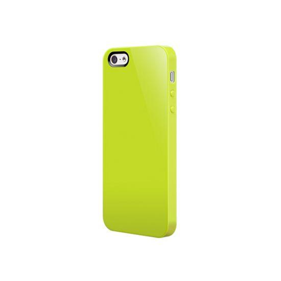 SwitchEasy Nude Hardcase voor de iPhone SE (2016) / 5S / 5 - Lime