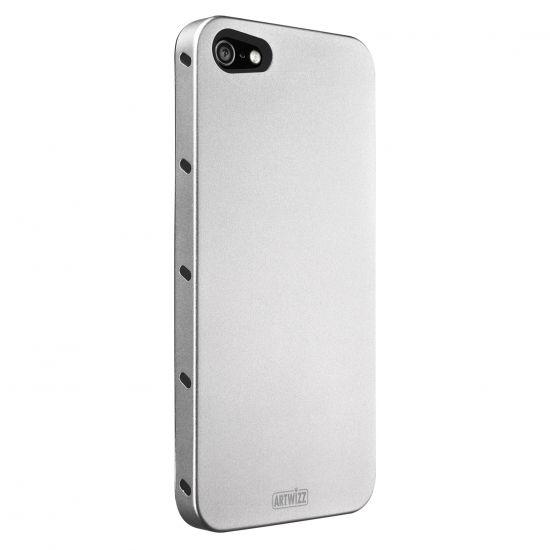 Artwizz SeeJacket Aluminium Backcover voor de iPhone SE (2016) / 5S / 5 - Zilver