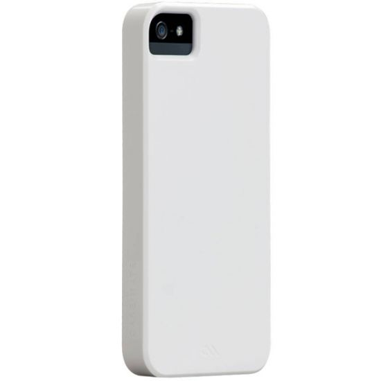 Case Mate Barely There Hardcase voor de iPhone SE (2016) / 5S / 5 - Glossy White