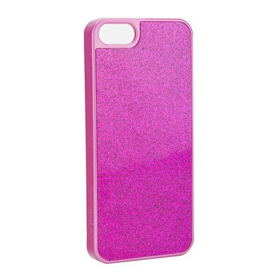Xqisit iPlate Hardcase voor de iPhone SE (2016) / 5S / 5 - Roze