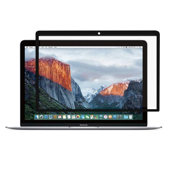 Mobigear Folie Screenprotector voor de MacBook 12 inch - Zwart