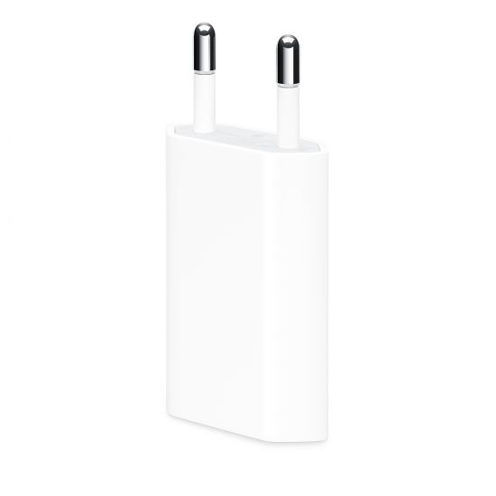 Apple iPhone / iPod Single USB Oplader 5W 1A - Wit