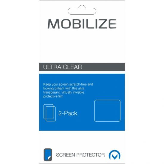 Mobilize Folie Screenprotector voor de iPhone SE (2016) / 5S / 5 - 2-Pack