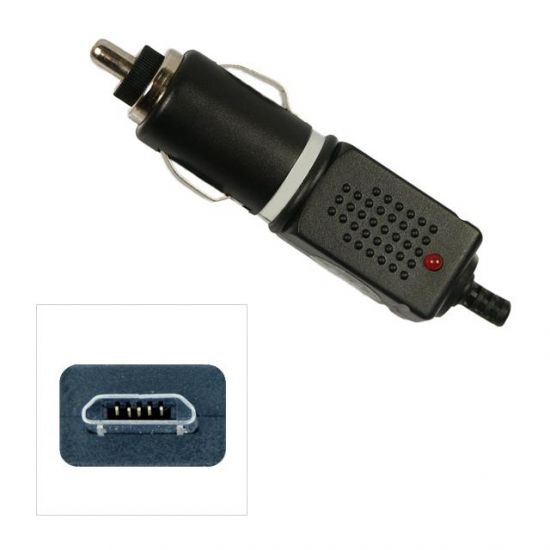 Xccess Autolader Micro USB 1 Meter 1A - Zwart