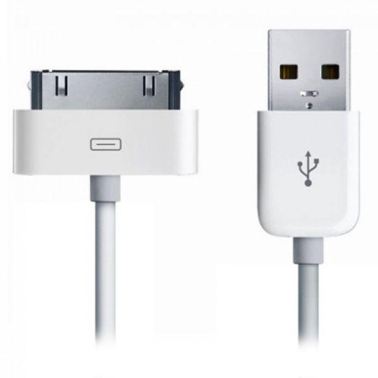 Xccess USB-A naar Apple 30-Pin Kabel 1 Meter - Wit