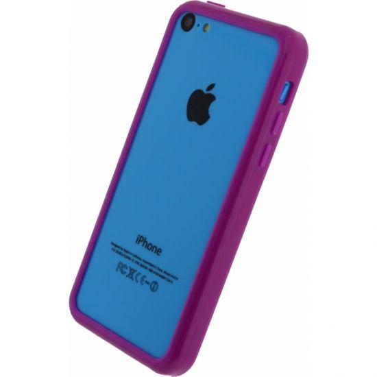 Xccess Bumper Case Hard Kunststof Bumper voor de iPhone 5C - Paars