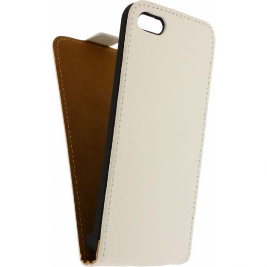 Mobilize Ultra Slim Flipcase voor de iPhone 5C - Wit