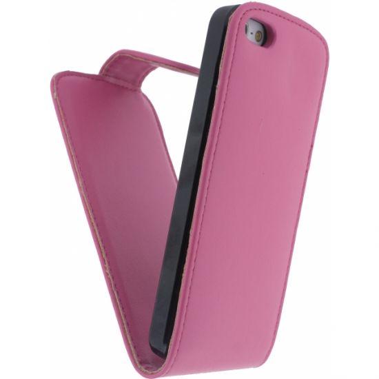 Xccess Flipcase voor de iPhone SE (2016) / 5S / 5 - Roze