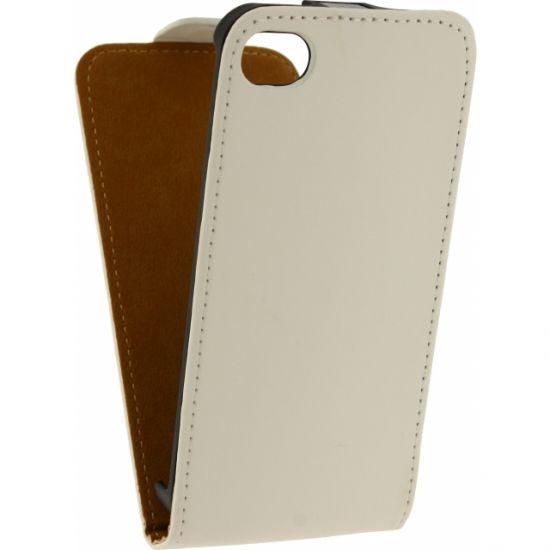 Mobilize Ultra Slim Flipcase voor de iPhone 4(S) - Wit