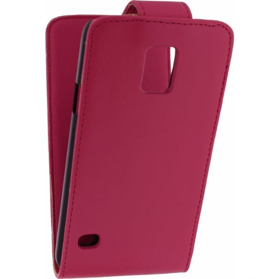 Xccess Flipcase voor de Samsung Galaxy S5 - Roze