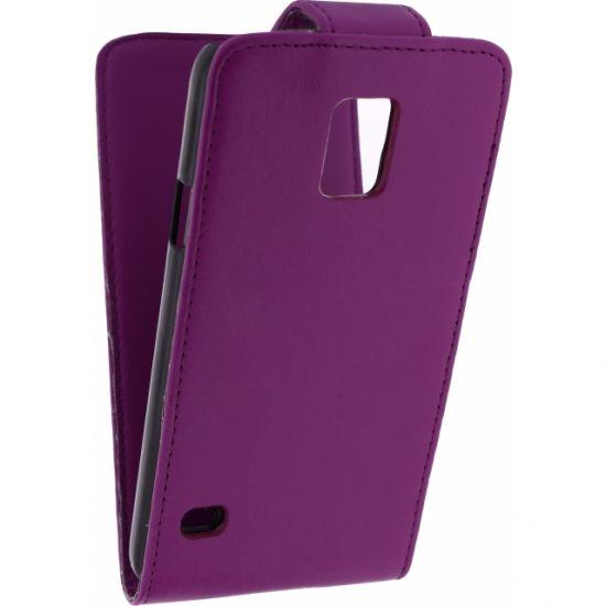 Xccess Flipcase voor de Samsung Galaxy S5 - Paars