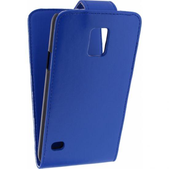Xccess Flipcase voor de Samsung Galaxy S5 - Blauw