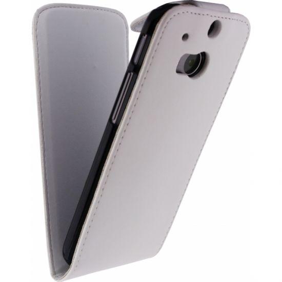 Xccess  Flipcase voor de HTC One M8 - Wit