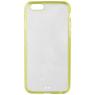 Xqisit iPlate Hardcase voor de iPhone 6(s) - Lime / Transparent
