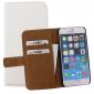 Mobilize Slim Wallet Book Case White voor Apple iPhone 6 / 6s