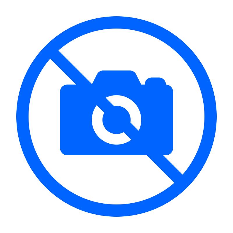Mobigear Hard Case met TPU Rand Matte Transparant / Licht blauw voor Apple iPhone 6 Plus / 6s Plus
