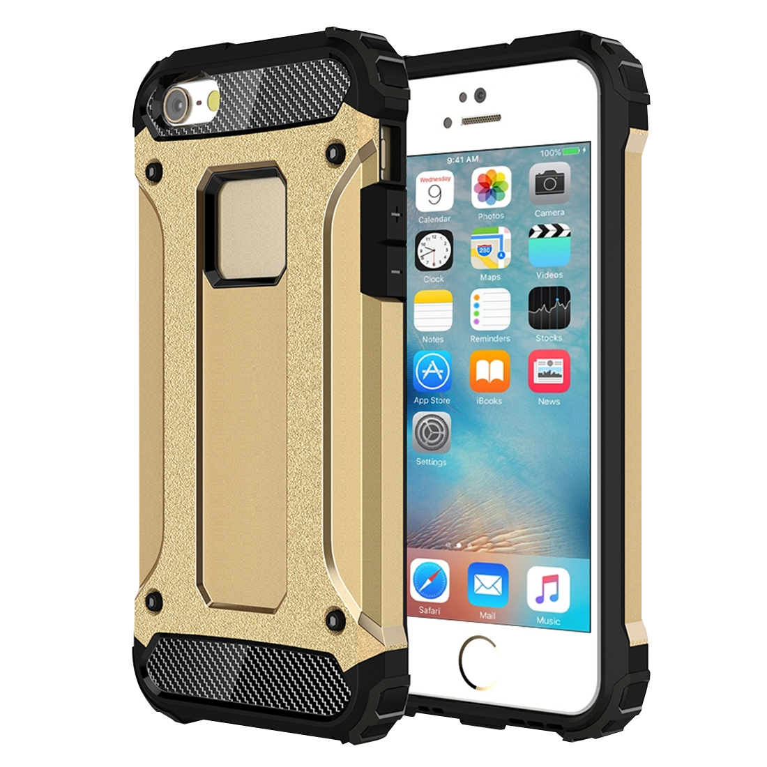 Mobigear Tough Armor Goud iPhone 5 / 5S / SE ...