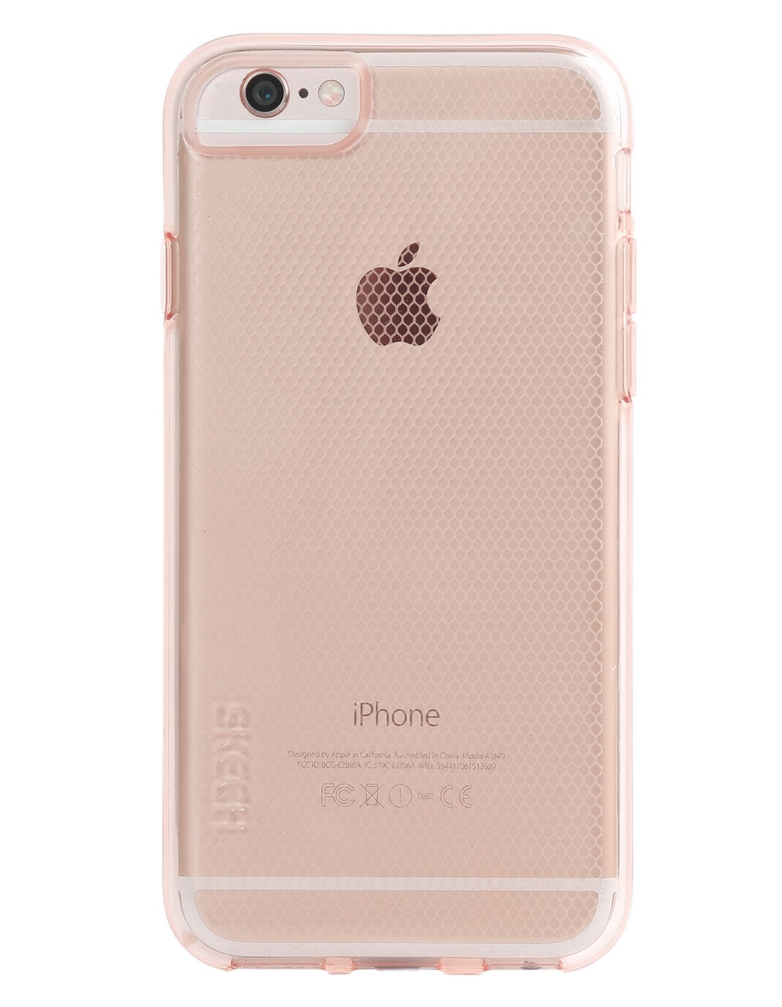 iphone 6 rose gold skech matrix gold transparant voor apple iphone 1201